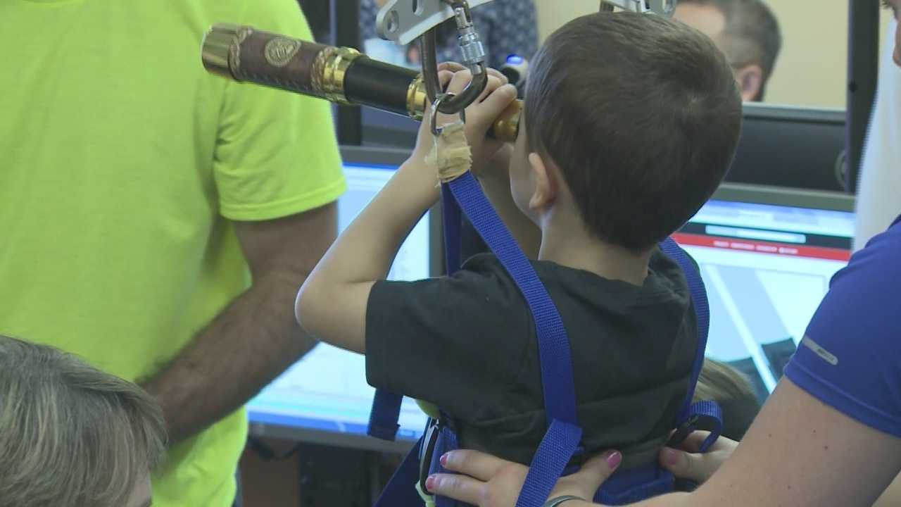 UofL, Frazier Rehab equipment gives hope to paralyzed children