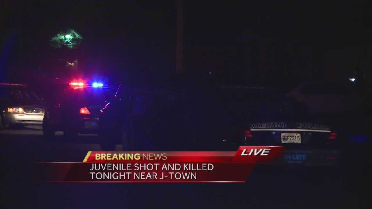 Juvenile dead after shooting in J-town