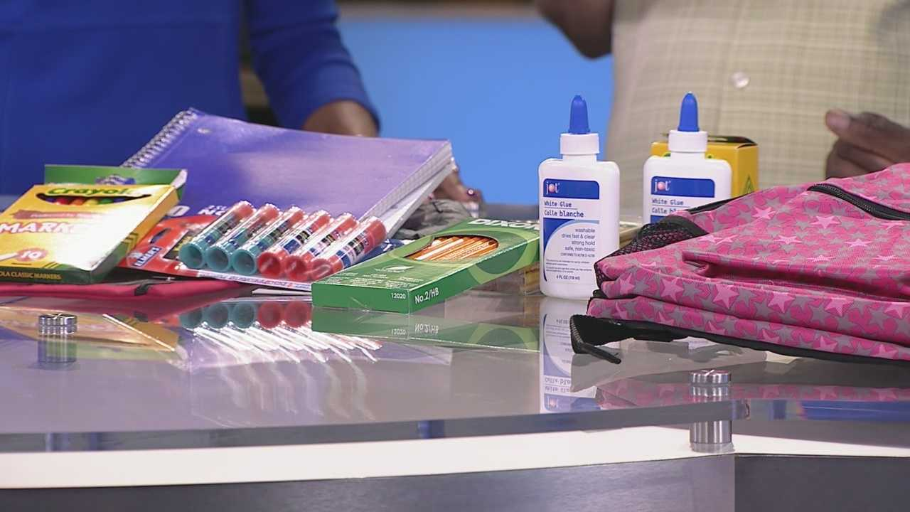 Help students get supplies they need with the Backpack Angel Program