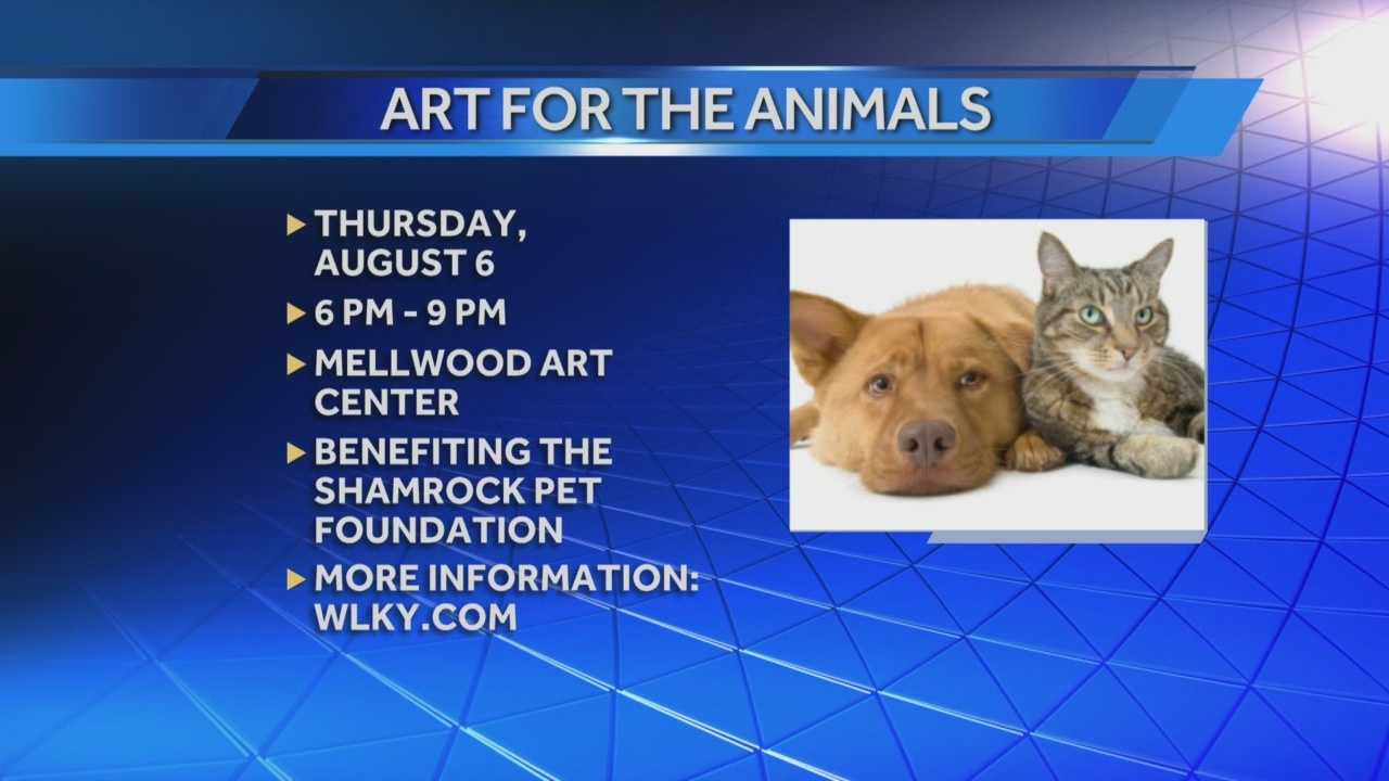 Art for the Animals to benefit Shamrock pet foundation