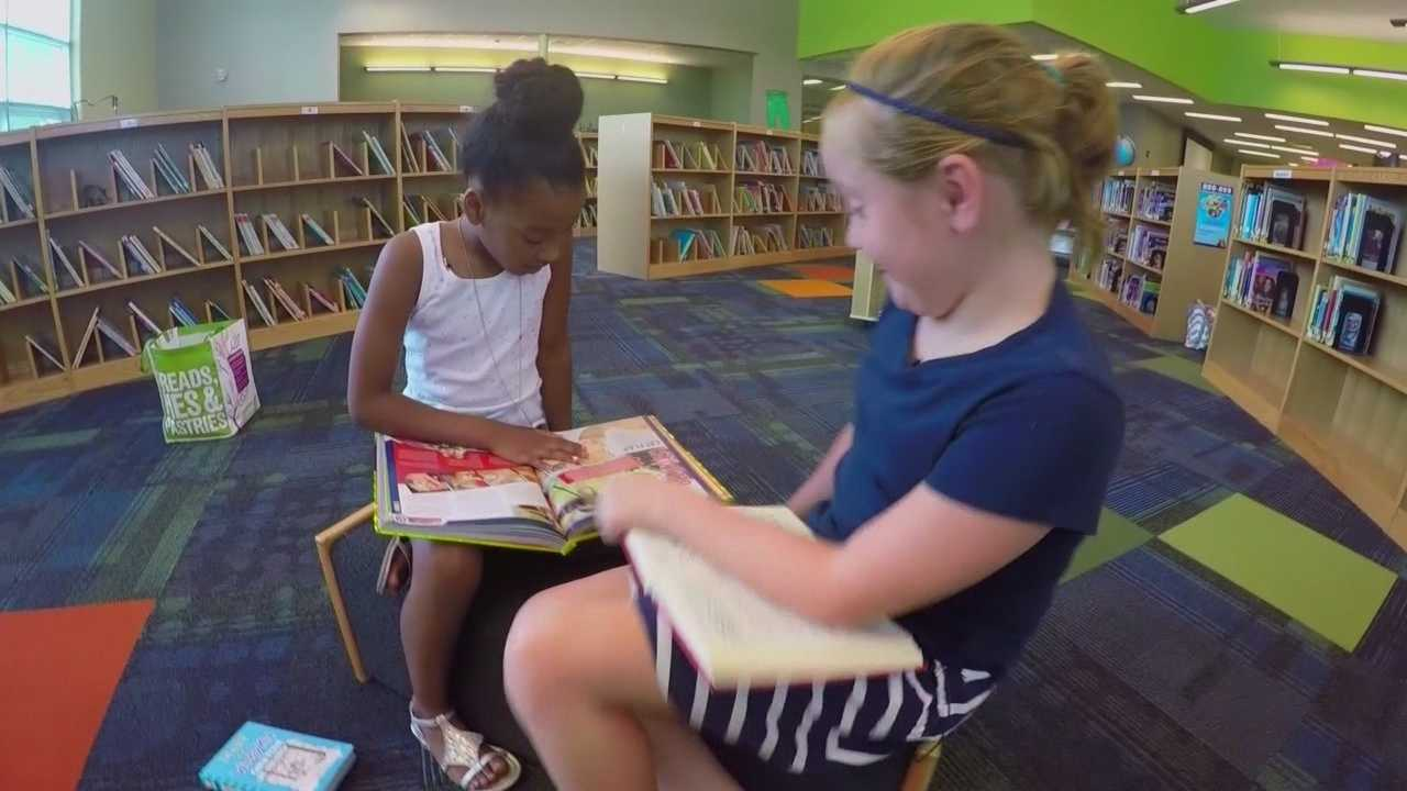 girlpower fourth graders collect books for classmates