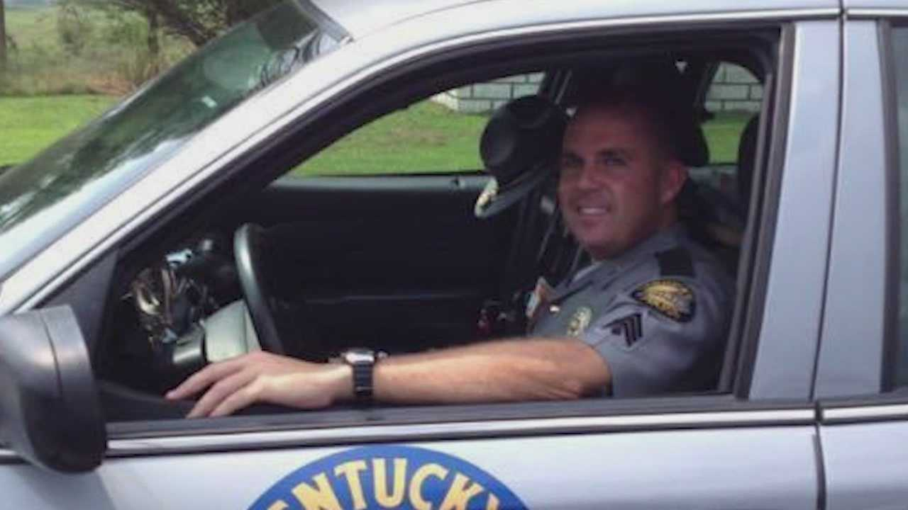 Friends say trooper died on the way to grandmothers funeral