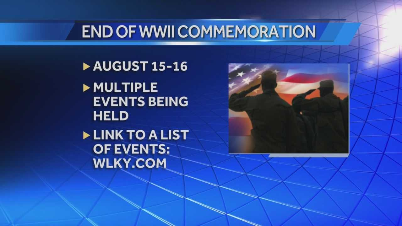 Commemoration of the end of WWII event to be held