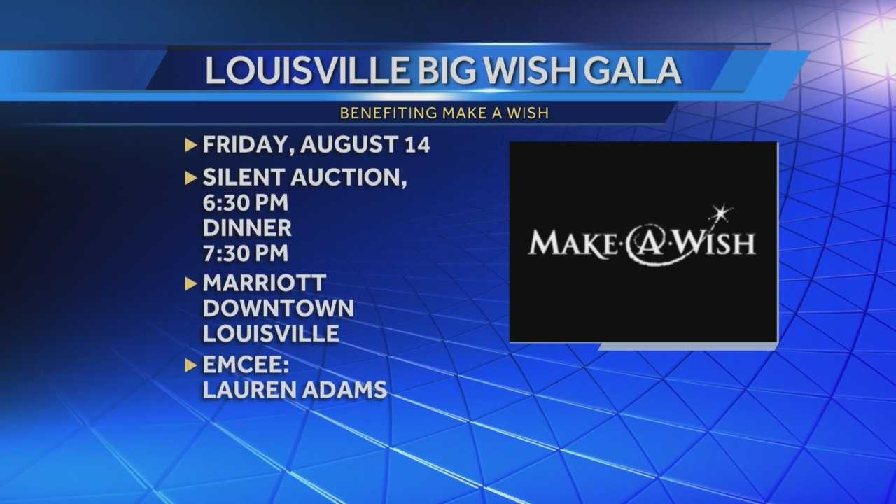 Louisville Big Wish Gala will benefit Make a Wish Kentucky, Indiana, Ohio