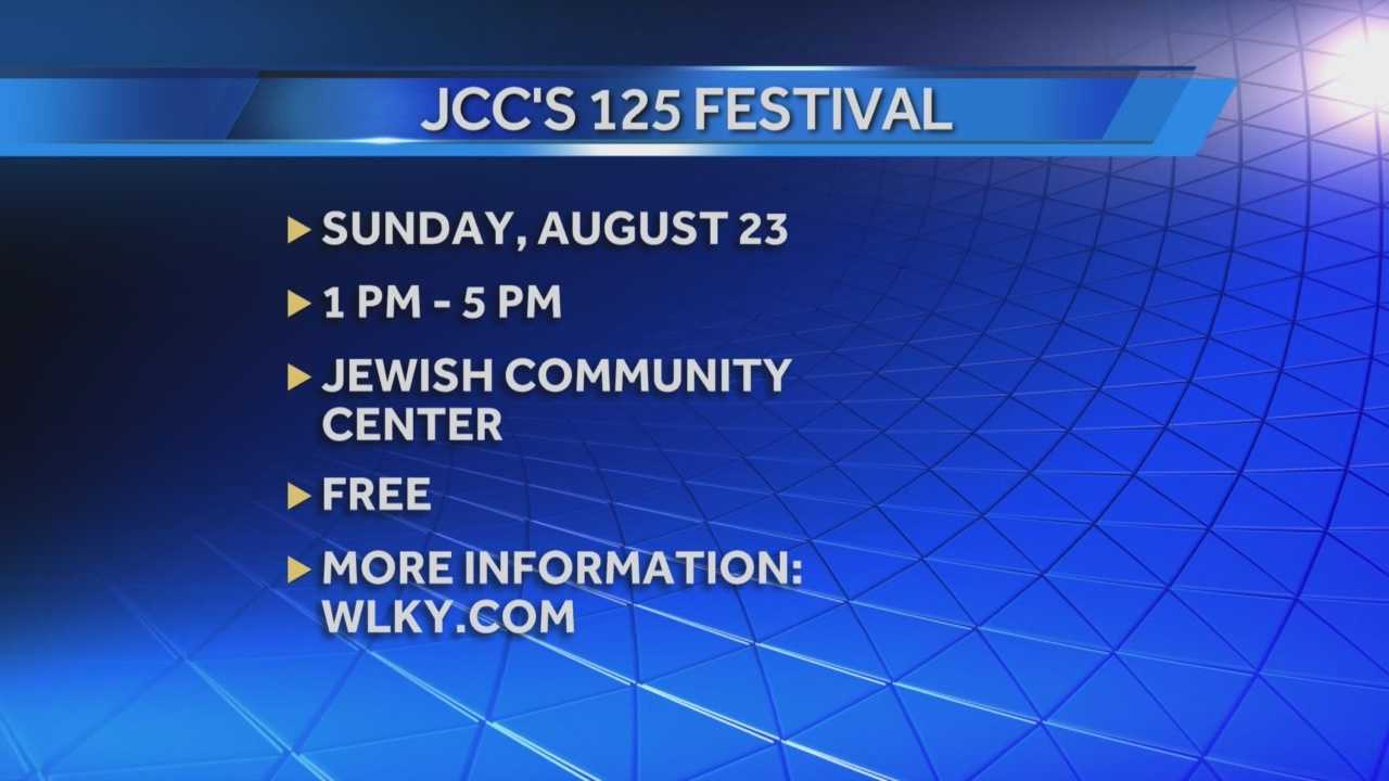 Jewish Community Center will host 125 Festival
