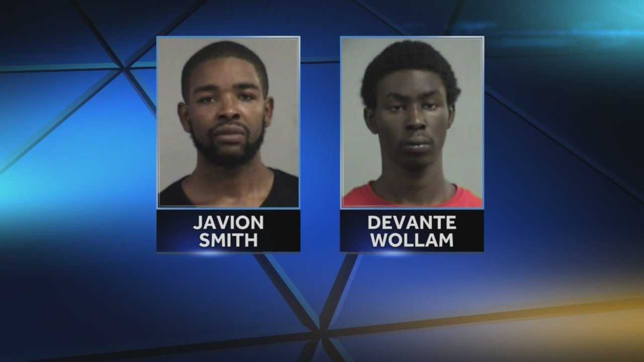 Two men arrested in string of home burglaries