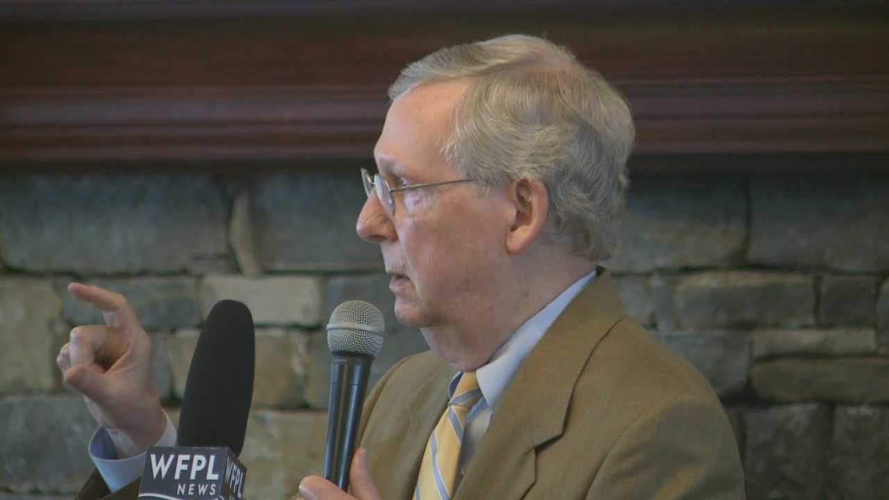 McConnell talks election, local issues in Shelbyville