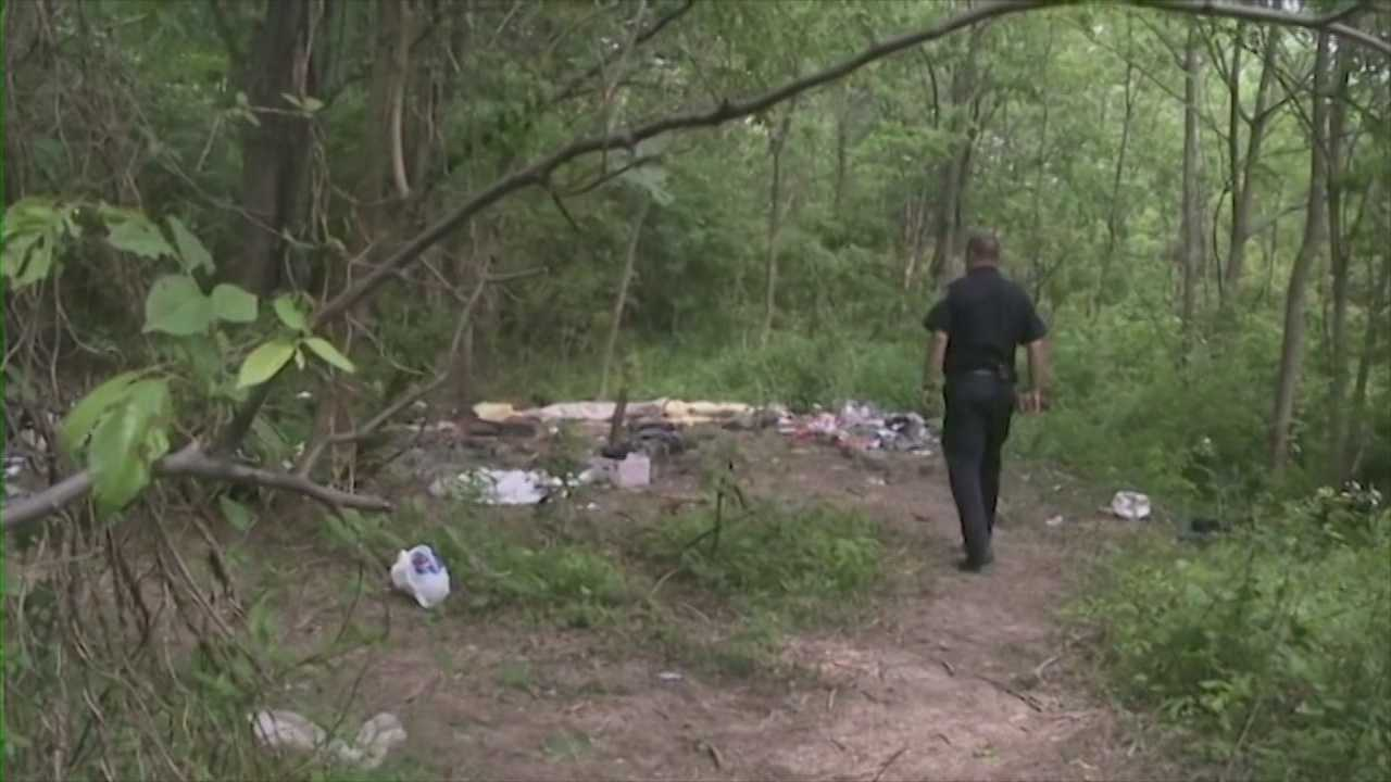 Police work to identify homeless man killed