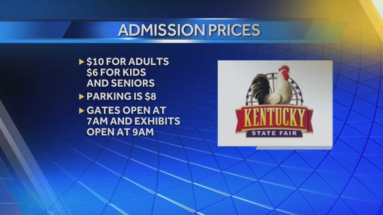 Kentucky State Fair now underway