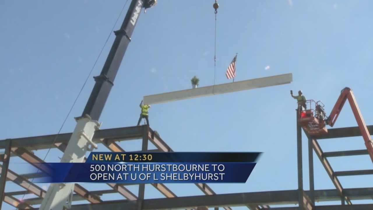 The University of Louisville is constructing buildings to rent out to raise money for programs.
