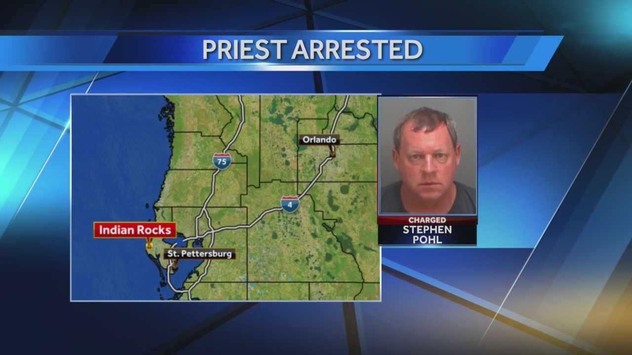 Former priest arrested in Florida, charged with child pornography