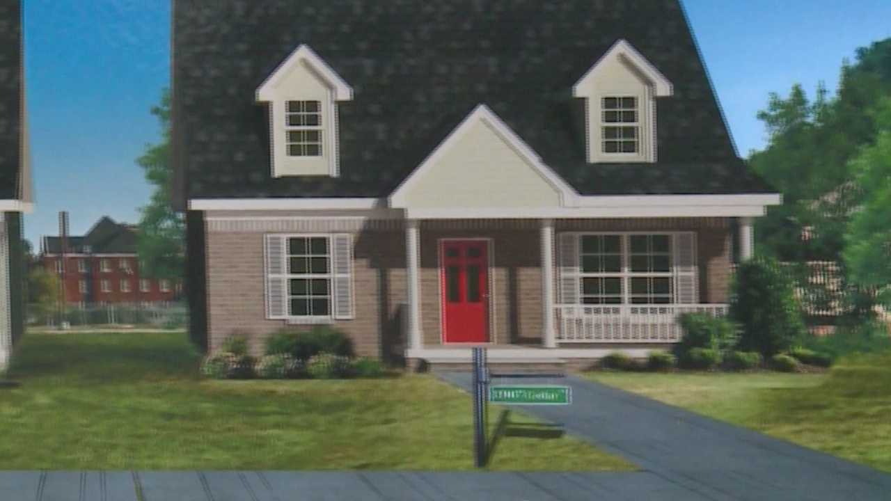 New homes to be built in Russell Neighborhood