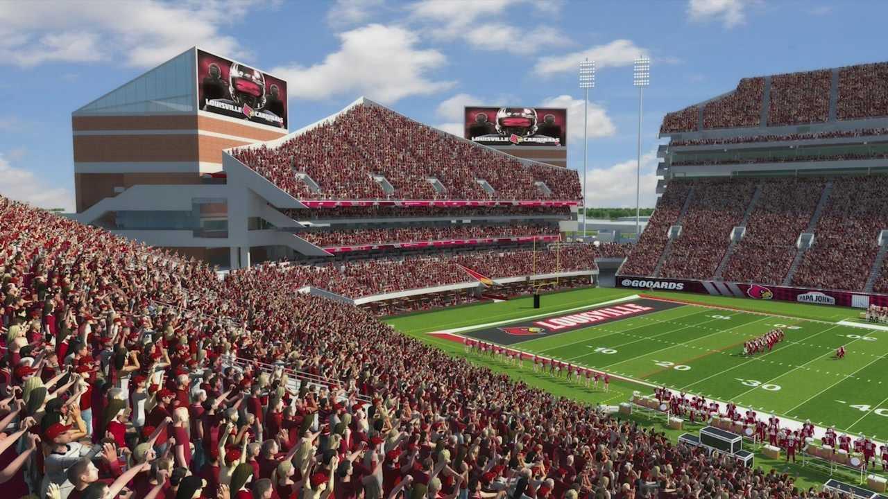 UofL planning to expand Papa John's Cardinal Stadium
