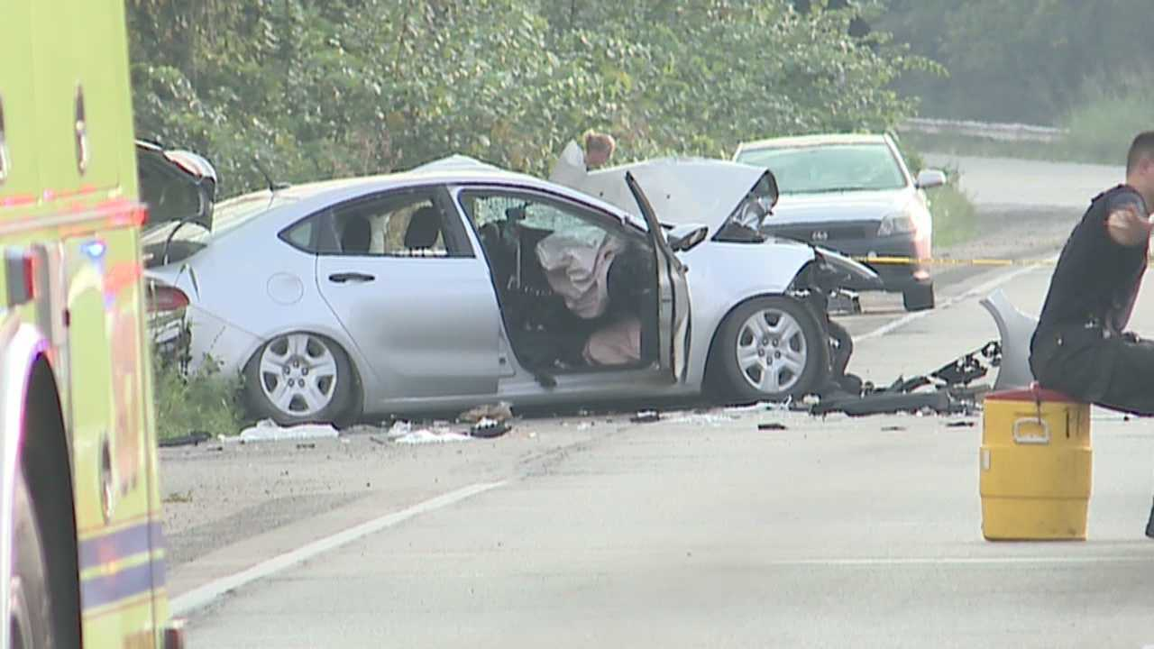 One person has died after a head-on collision on Dixie Highway and Katherine Station Road.