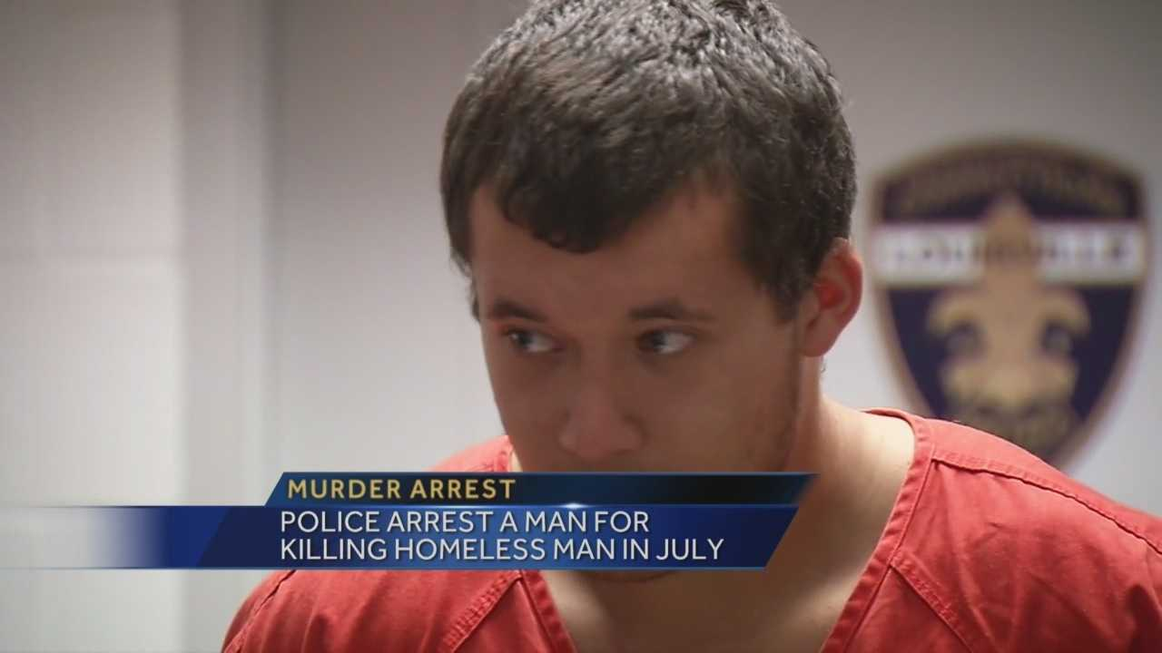 Man accused of killing a homeless man pleads not guilty