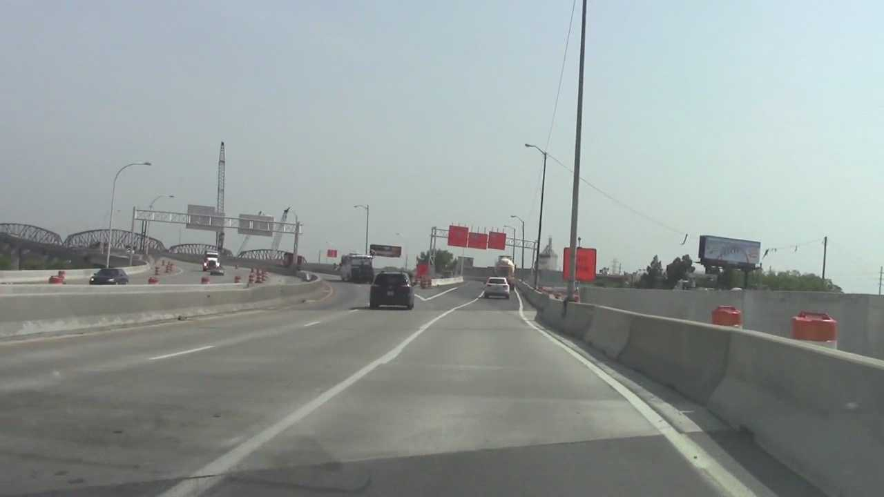 Traffic changes take effect as new ramps open