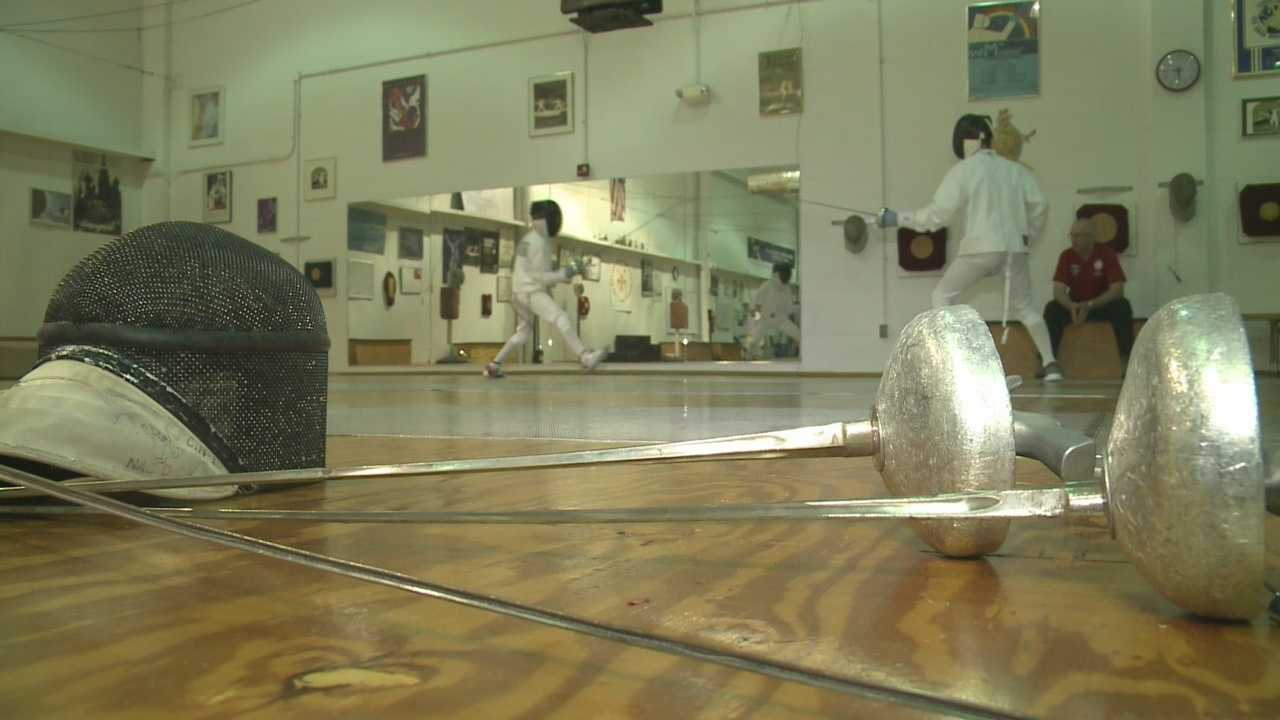 The Louisville Fencing Center is home to many athletes who have gone on to do some remarkable things