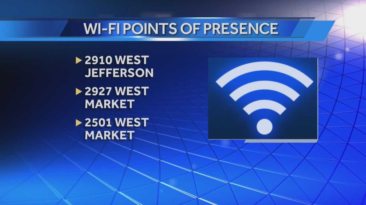 Free Wi-Fi is now up and running in the Russell neighborhood.