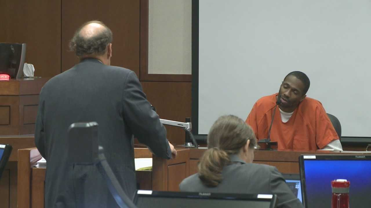 A man implicated in the 2013 death of a federal murder trial witness testified against his co-defendant Wednesday.