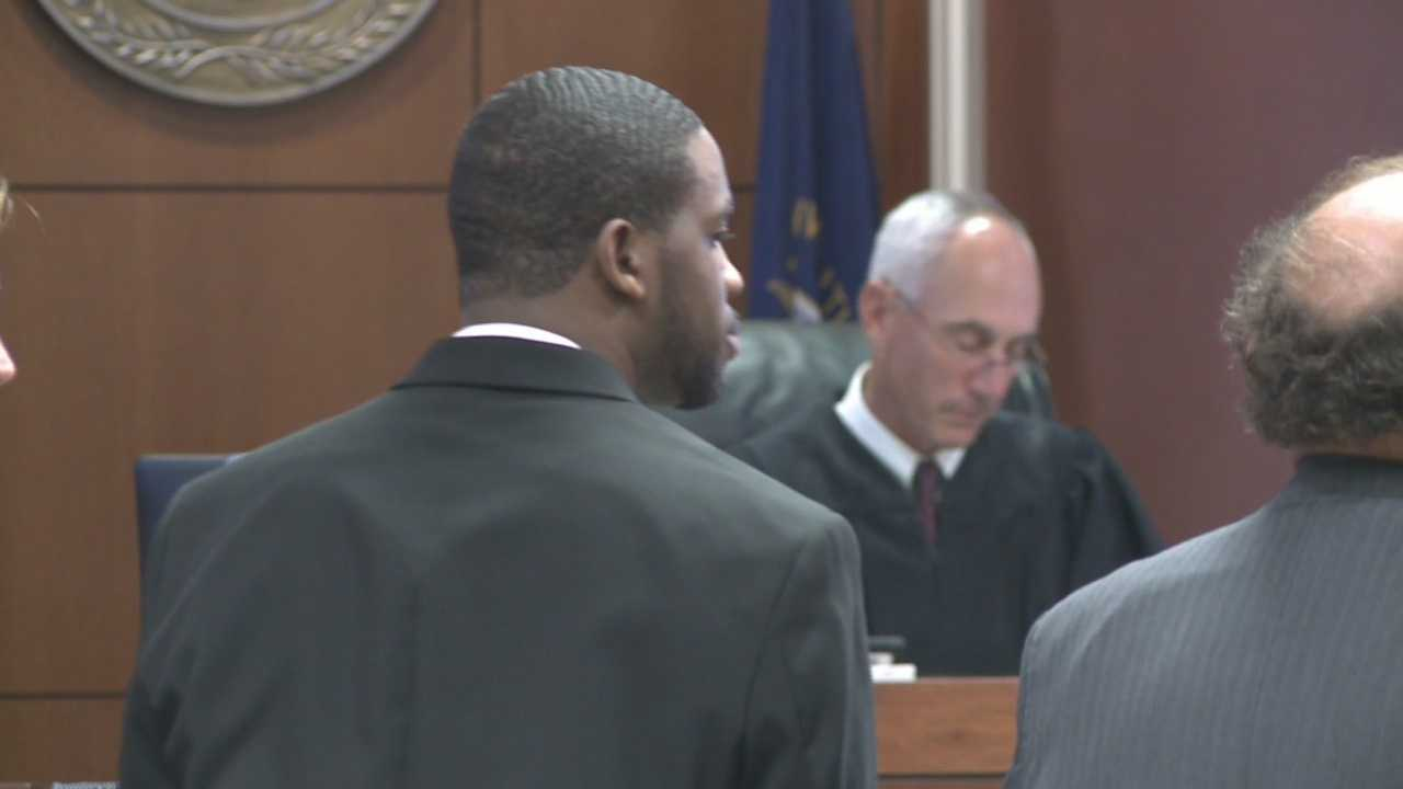 A man who was accused in the shooting death of a witness in a federal trial is a free man.