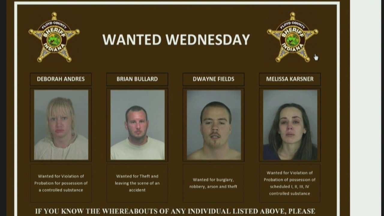 Wanted Wednesday is a success for Floyd Co. Sheriff's Office