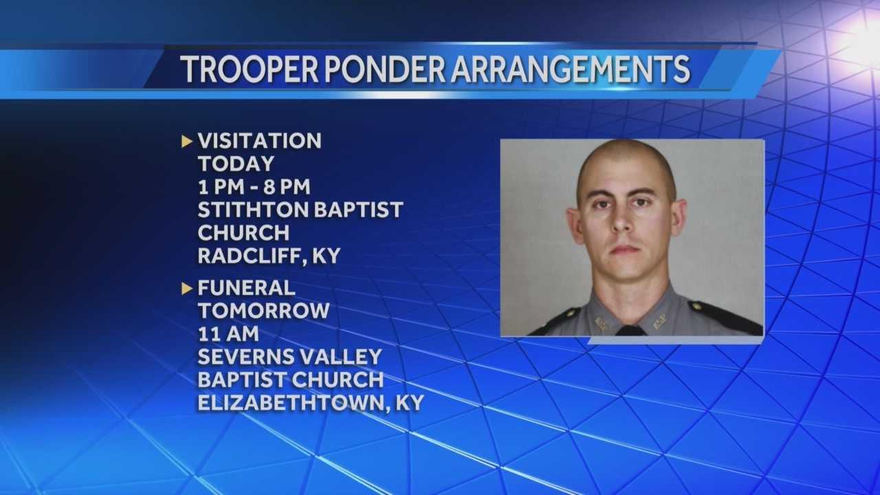Visitation for slain Kentucky State Trooper held Thursday