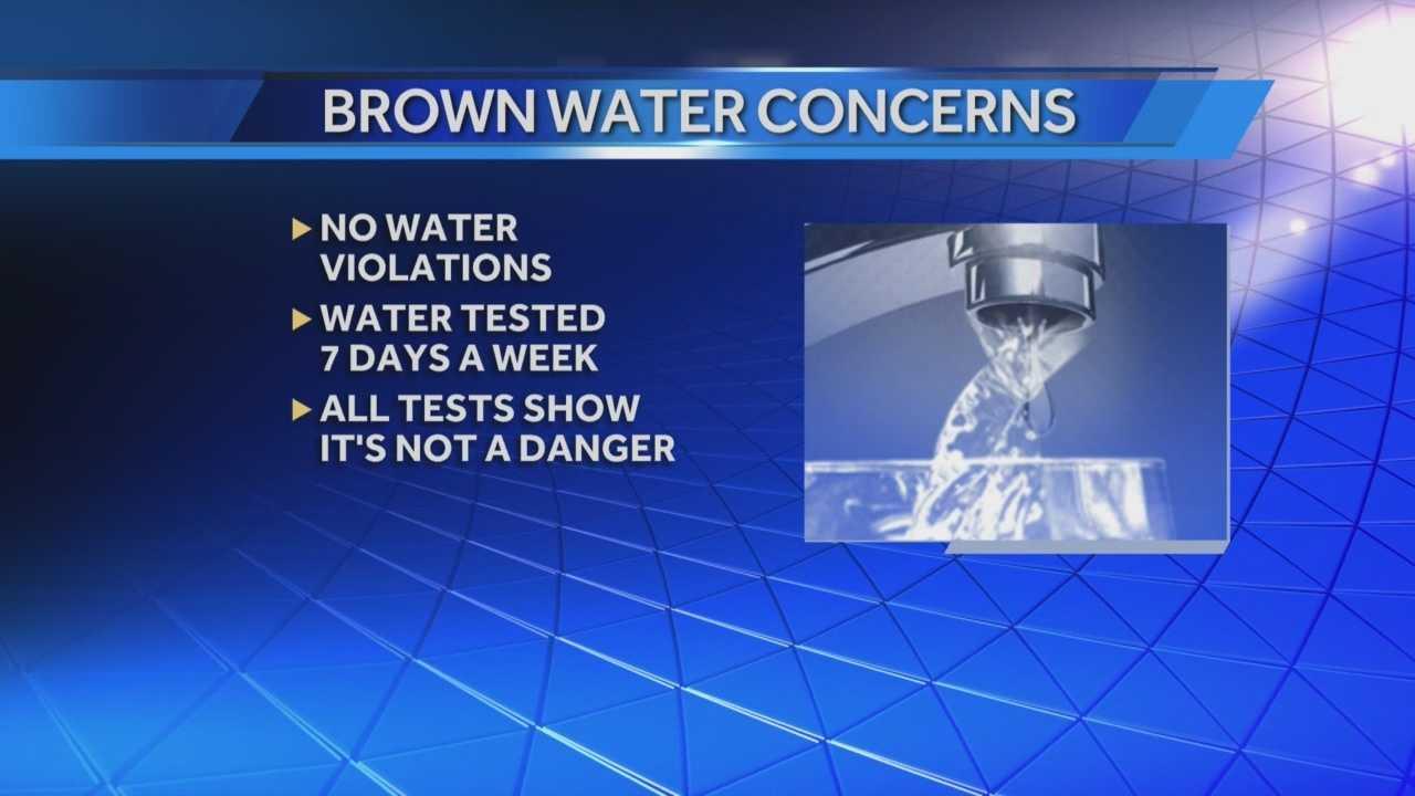 Charlestown still dealing with brown water: progress being made