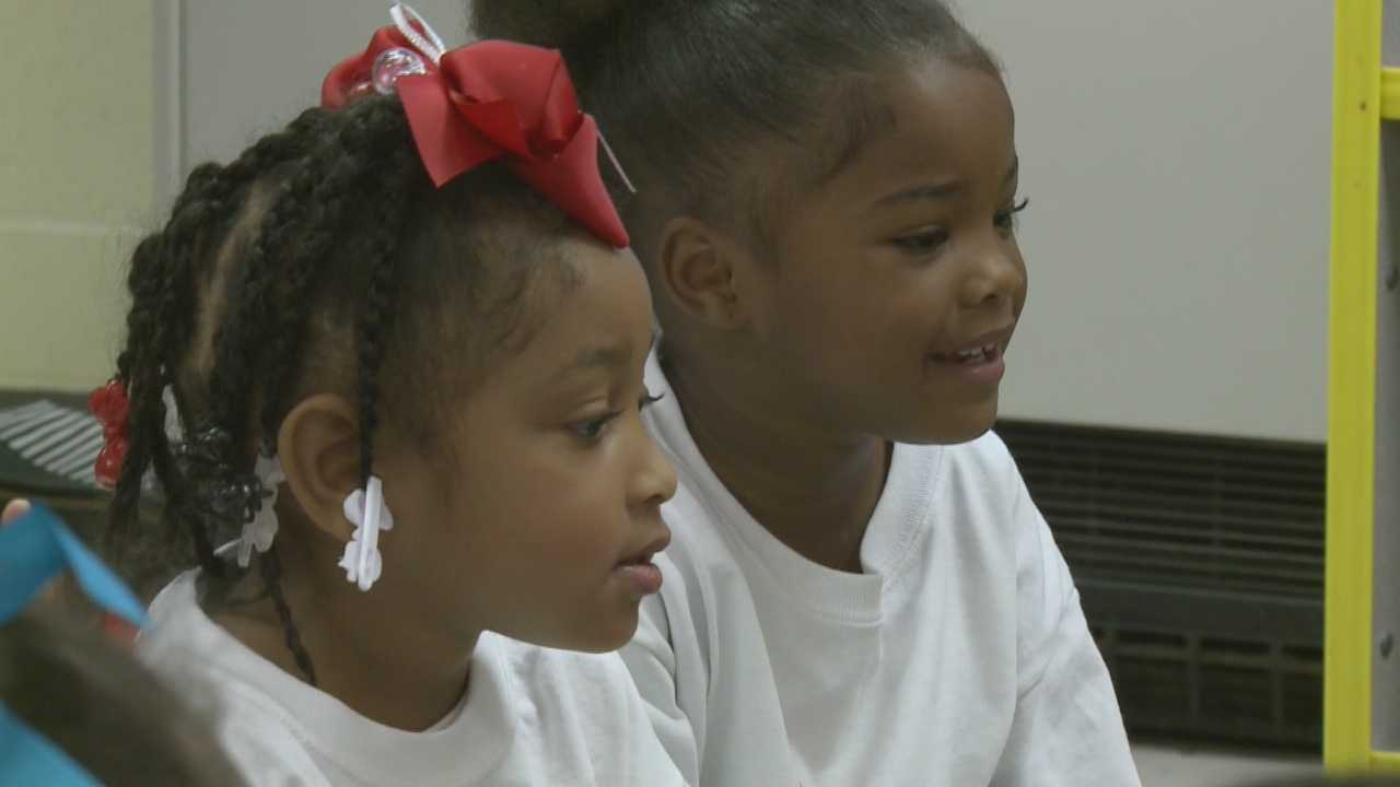 Some Jefferson County Public School pre-kindergarten students are using drama to learn math and other subjects.