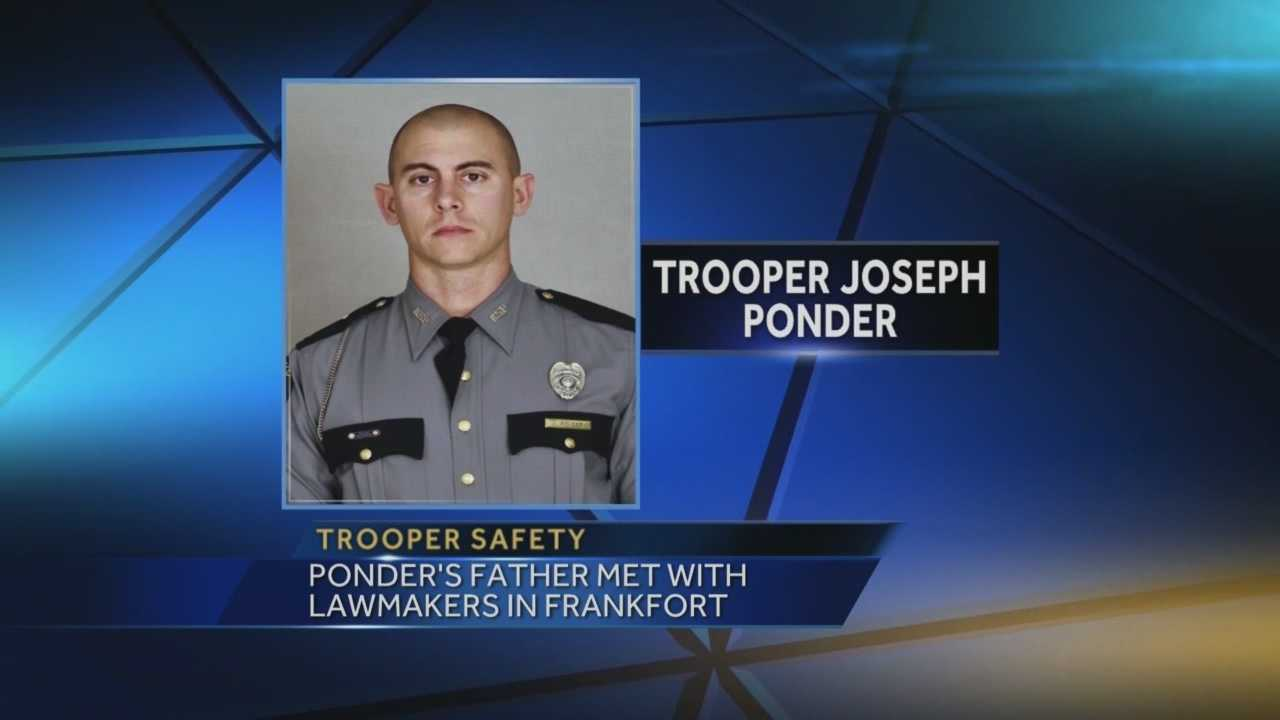 Hardin County residents have found a special way to honor fallen Kentucky State Police Trooper Joseph Cameron Ponder.