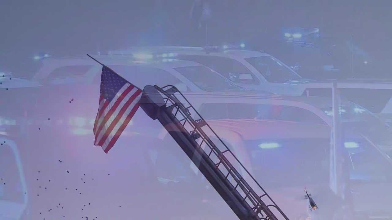 Community, law enforcement remember fallen State Trooper in Trigg County
