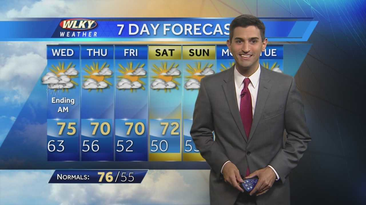 WLKY's Matt Milosevich has the latest 7-day forecast.