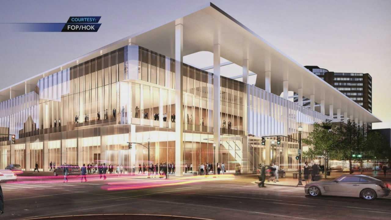 Kentucky International Convention Center reveals new design plans