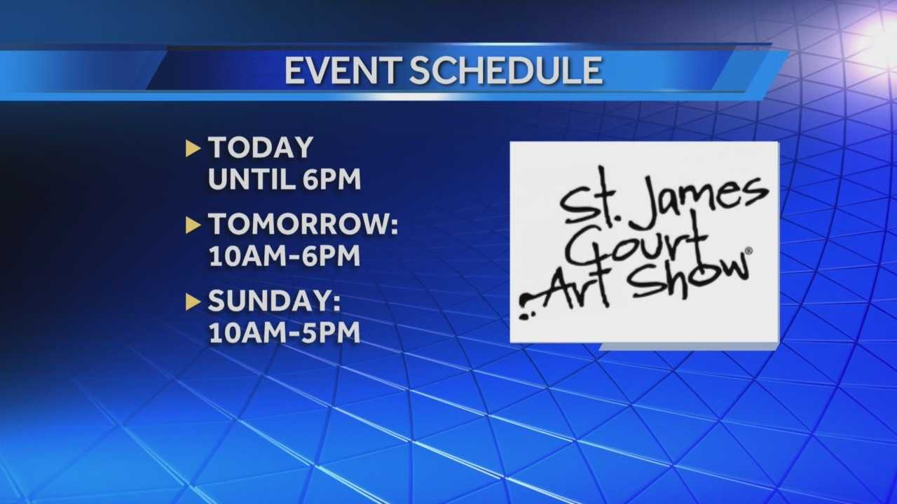 St. James Court Art Show kicks off in Old Louisville