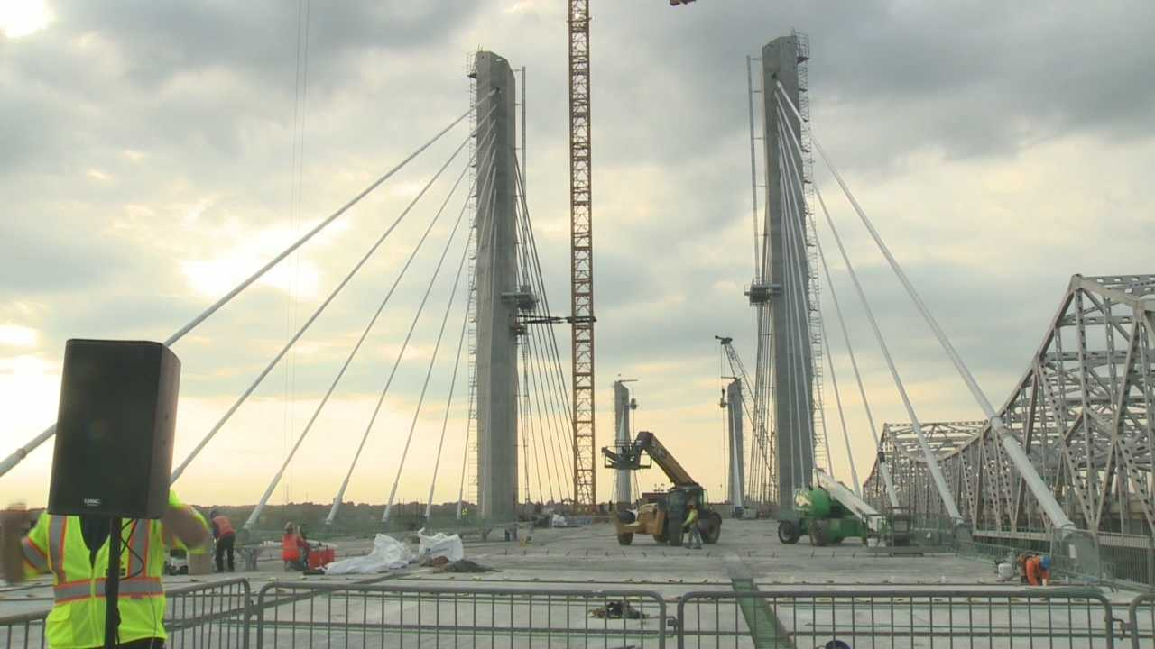 Kentucky Gov. Steve Beshear announced Monday morning that the new bridge will open ahead of schedule.