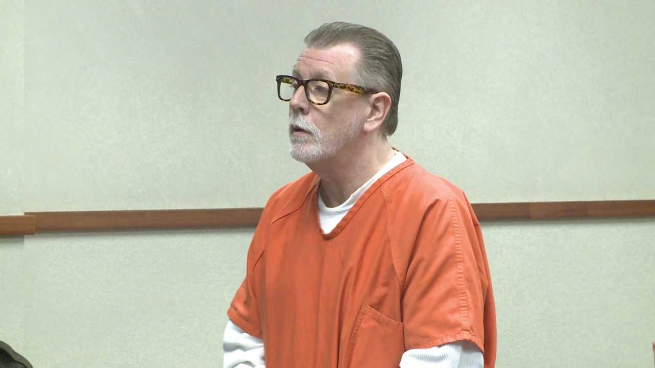 A Louisville man who admitted to killing his landlord last year apologized in court Tuesday.