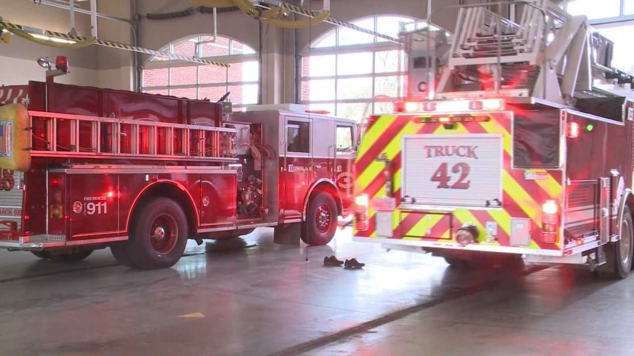 Jeffersonville's mayor issued an executive order calling for the city's fire department to staff each ladder truck with four firefighters as a precaution.