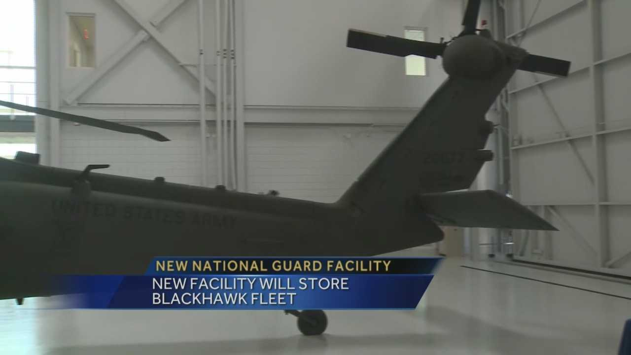 The Kentucky National Guard opened a new facility Wednesday morning in Frankfort during a special ceremony.