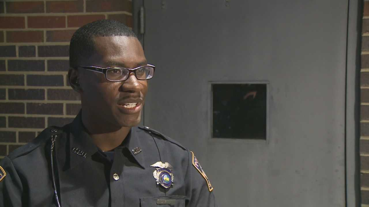 One of Clarksville's newest police officers is making history. Demetrius Latham Jr. is the city's first African-American officer. He and two other officers were sworn-in on Monday evening at the Clarksville Town Council meeting.