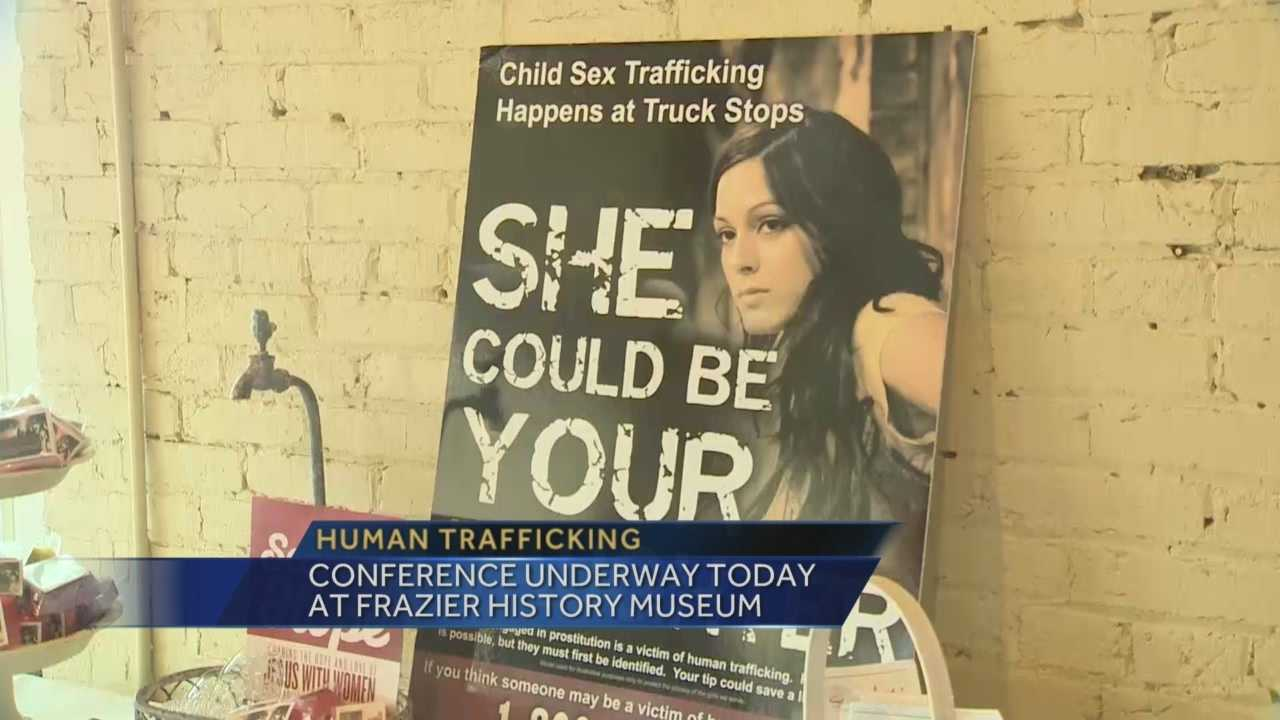 A conference is being held Tuesday to educate people about human trafficking.