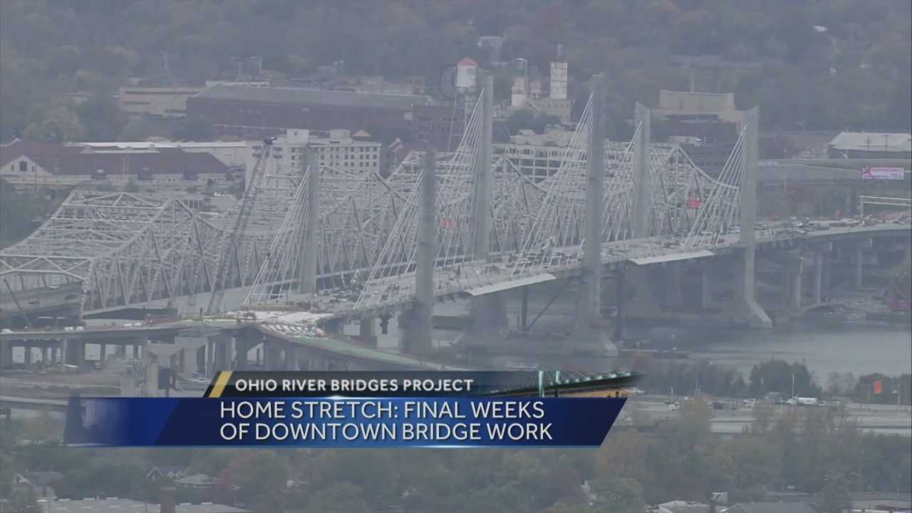 The new downtown bridge is expected to be completed soon.