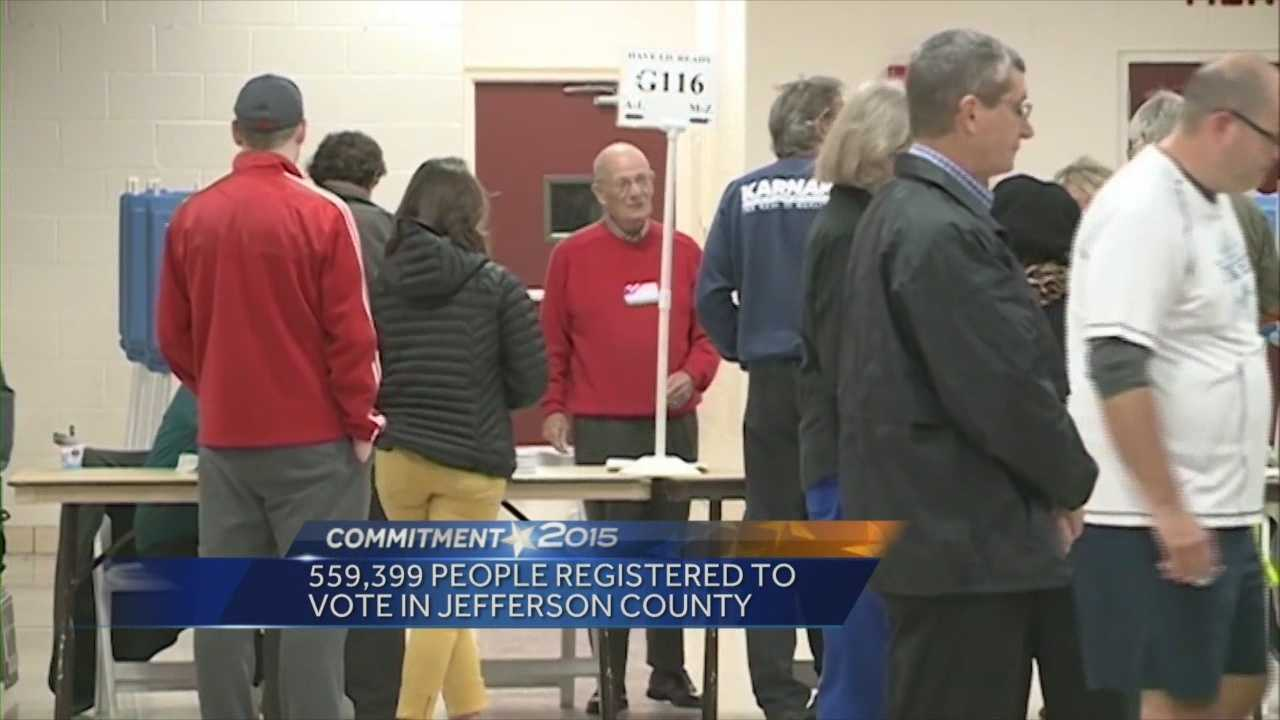 Kentucky and Indiana voters are heading to the polls Tuesday.