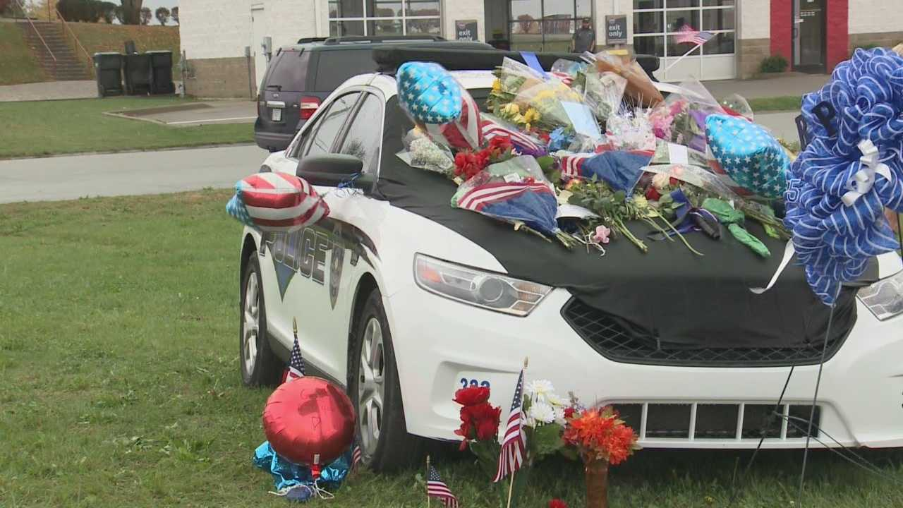 Richmond community mourns loss of officer killed in line of duty
