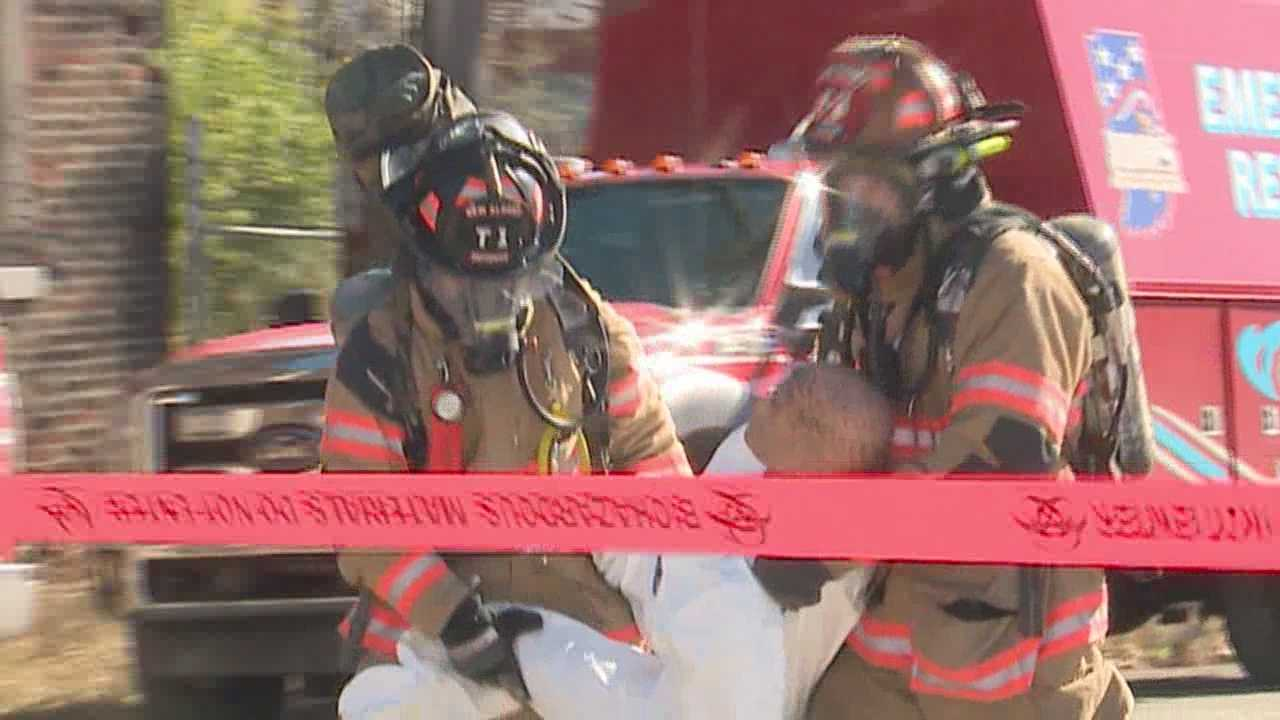 New Albany emergency crews run disaster drill