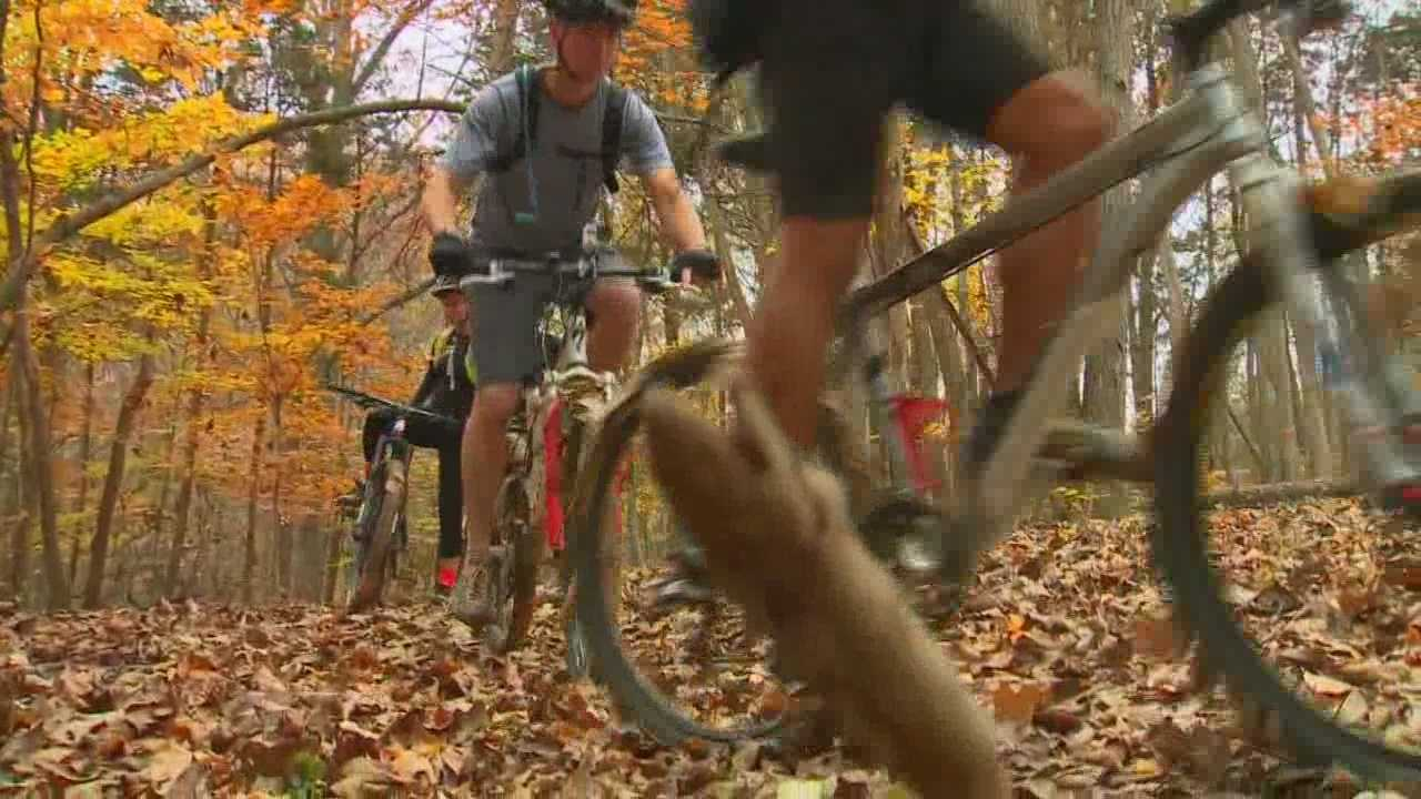 WLKY's Mark Vanderhoff gives a tour of some places to go mountain biking in the WLKY viewing area.