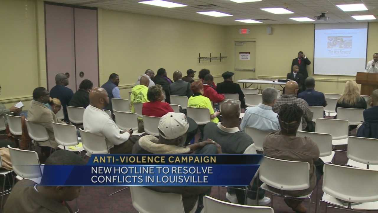 A new hotline is going to be used to try and help resolve conflicts in Louisville.