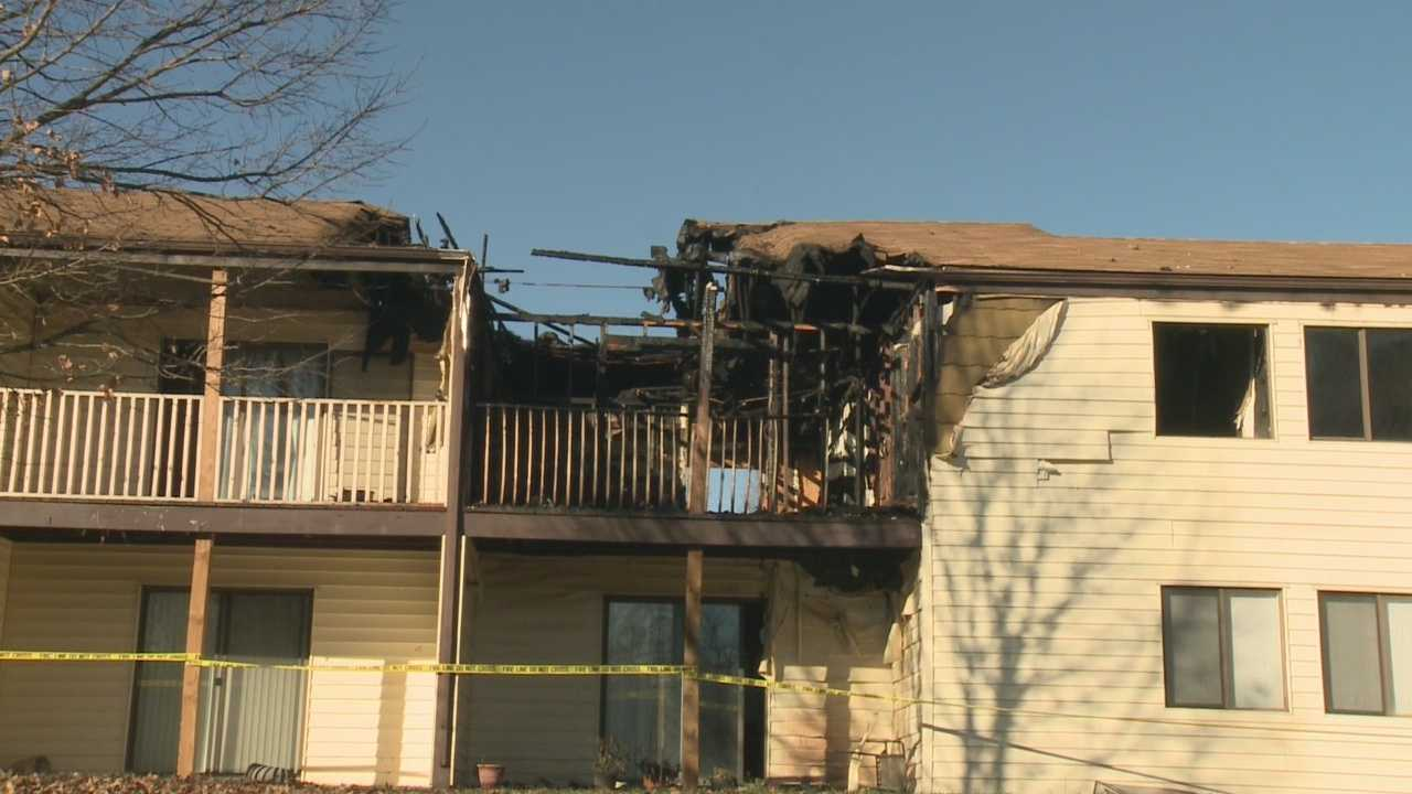 A 2-year-old boy dies in an apartment fire in Frankfort, Kentucky.