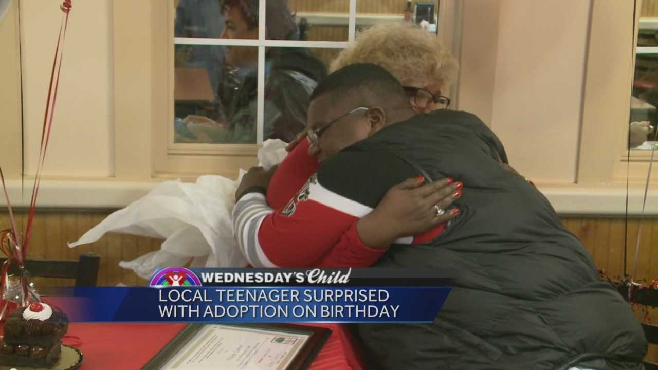 At 16, a young man finally gets his dream of being adopted.