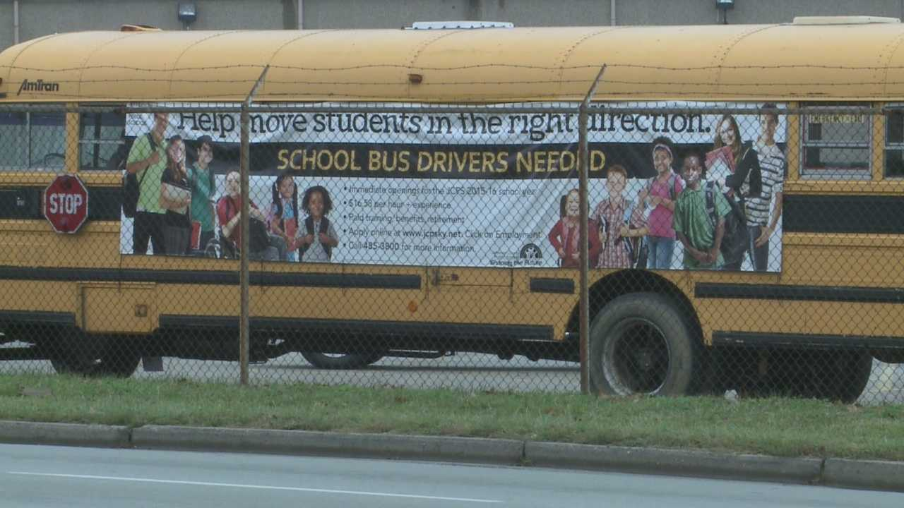 The Jefferson County Public Schools system is trying to fill numerous positions on district buses while combating the perception of a dangerous work environment.