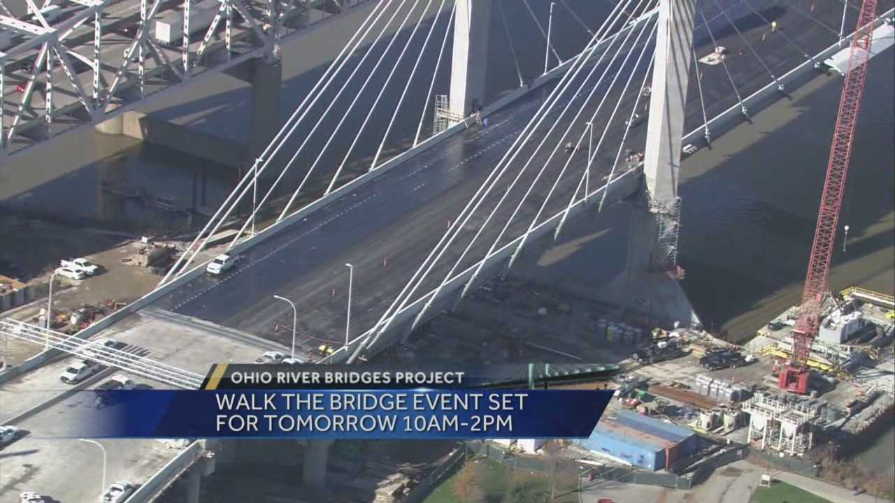 Gov. Steve Beshear will cut the ribbon for the new bridge on Dec. 5.