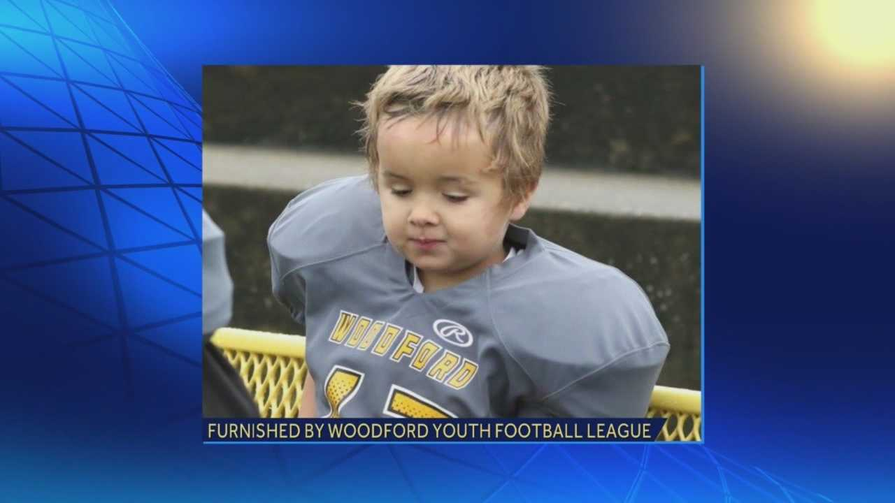 Versailles police say they haven't found a connection between a 6-year-old boy who was killed in his sleep and the man accused of the crime.